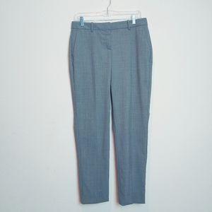 NWT Theory Testra 2B Gray Wool Blend Pants. Size 6